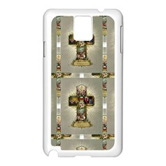 Easter Cross Samsung Galaxy Note 3 Case (White)