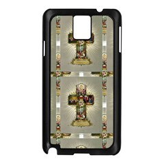 Easter Cross Samsung Galaxy Note 3 Case (Black)