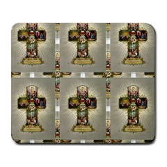 Easter Cross Large Mouse Pad (Rectangle)