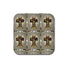 Easter Cross Drink Coasters 4 Pack (Square)