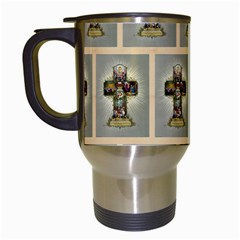 Easter Cross Travel Mug (White)