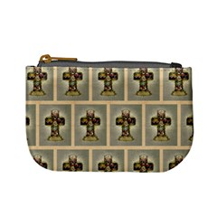 Easter Cross Coin Change Purse