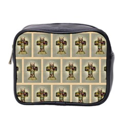 Easter Cross Mini Travel Toiletry Bag (Two Sides)