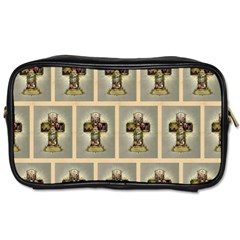 Easter Cross Travel Toiletry Bag (One Side)