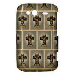 Easter Cross HTC Wildfire S A510e Hardshell Case