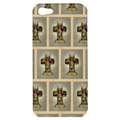 Easter Cross Apple iPhone 5 Hardshell Case