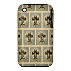 Easter Cross Apple iPhone 3G/3GS Hardshell Case (PC+Silicone)