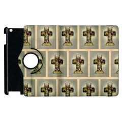 Easter Cross Apple iPad 2 Flip 360 Case