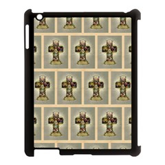 Easter Cross Apple iPad 3/4 Case (Black)