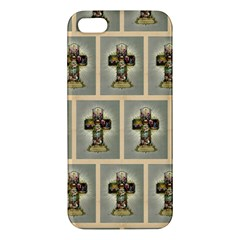 Easter Cross iPhone 5S Premium Hardshell Case