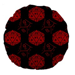 Dice 18  Premium Round Cushion
