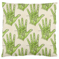 Palmistry Large Cushion Case (Single Sided)