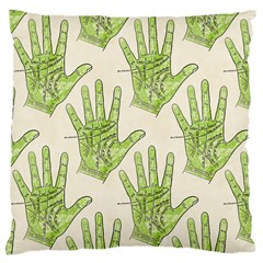 Palmistry Large Cushion Case (Two Sided)