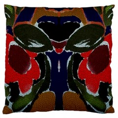 Bold Floral Large Cushion Case (Two Sided)