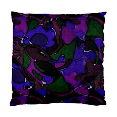 Grape Jungle Cushion Case (two Sided)