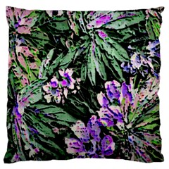 Garden Greens Large Cushion Case (two Sided)