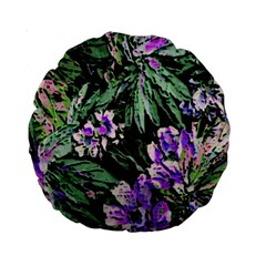Garden Greens 15  Premium Round Cushion