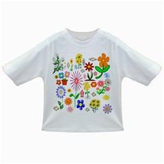 Summer Florals Baby T Shirt