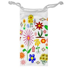 Summer Florals Jewelry Bag