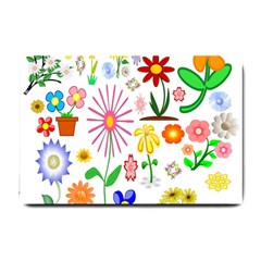 Summer Florals Small Door Mat