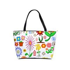 Summer Florals Large Shoulder Bag