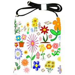 Summer Florals Shoulder Sling Bag