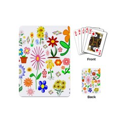 Summer Florals Playing Cards (Mini)