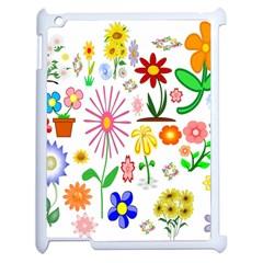 Summer Florals Apple Ipad 2 Case (white)