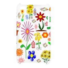 Summer Florals Apple iPod Touch 4G Hardshell Case