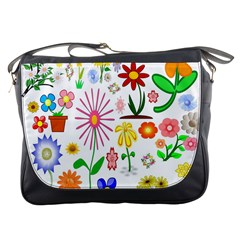 Summer Florals Messenger Bag