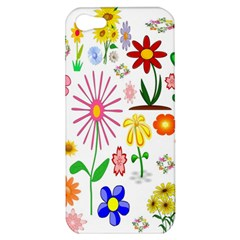 Summer Florals Apple Iphone 5 Hardshell Case