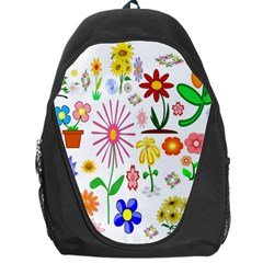 Summer Florals Backpack Bag