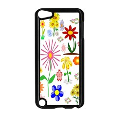 Summer Florals Apple iPod Touch 5 Case (Black)