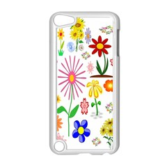 Summer Florals Apple iPod Touch 5 Case (White)