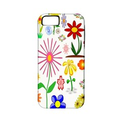 Summer Florals Apple iPhone 5 Classic Hardshell Case (PC+Silicone)