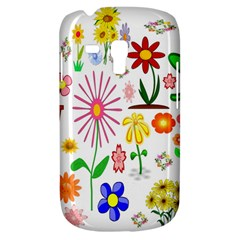 Summer Florals Samsung Galaxy S3 MINI I8190 Hardshell Case