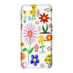 Summer Florals Apple Ipod Touch 5 Hardshell Case With Stand