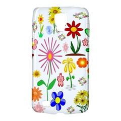 Summer Florals Samsung Galaxy S4 Active (i9295) Hardshell Case
