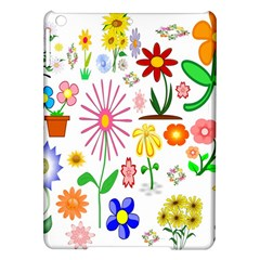 Summer Florals Apple Ipad Air Hardshell Case
