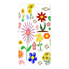 Summer Florals Samsung Galaxy Note 3 Hardshell Back Case