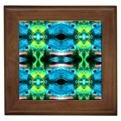 leprosy Framed Ceramic Tile