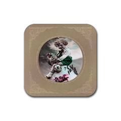 Victorian Easter Ephemera Drink Coasters 4 Pack (Square)