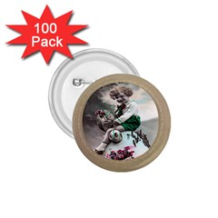 Victorian Easter Ephemera 1.75  Button (100 pack)