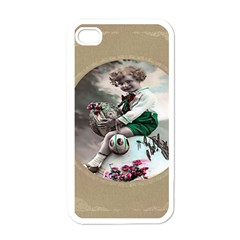 Victorian Easter Ephemera Apple iPhone 4 Case (White)
