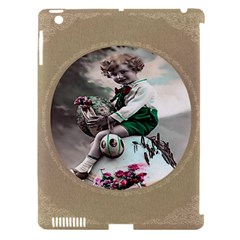 Victorian Easter Ephemera Apple iPad 3/4 Hardshell Case (Compatible with Smart Cover)