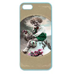 Victorian Easter Ephemera Apple Seamless iPhone 5 Case (Color)