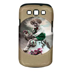 Victorian Easter Ephemera Samsung Galaxy S III Classic Hardshell Case (PC+Silicone)