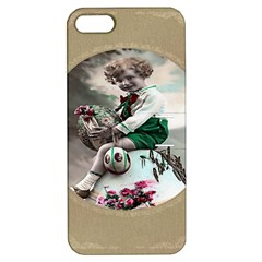 Victorian Easter Ephemera Apple iPhone 5 Hardshell Case with Stand