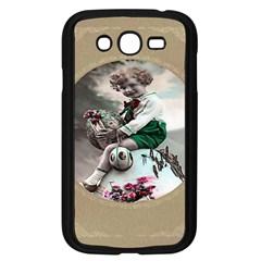 Victorian Easter Ephemera Samsung Galaxy Grand DUOS I9082 Case (Black)