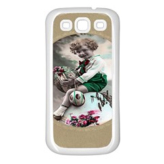 Victorian Easter Ephemera Samsung Galaxy S3 Back Case (White)